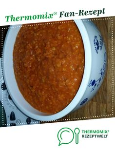 Vegetarian Bolognese with red lentils from A Thermomix ® recipe from . - Vegetarian Bolognese with red lentils from A Thermomix ® recipe from the Sauces / Dips / S - Old Italian Recipes, Italian Cookie Recipes, Cookie Recipes For Kids, Healthy Cookie Recipes, Beste Bolognese, Vegetarian Bolognese, Bmw Autos, Ginger Bread Cookies Recipe, Kids Meals
