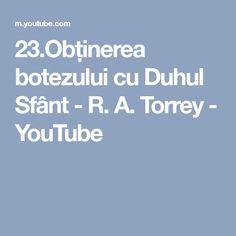 botezului cu Duhul Sfânt - R. Youtube, Youtubers, Youtube Movies