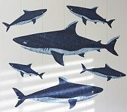 Shark mural | Pottery Barn Kids