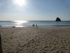 Beautiful sunny day at Playa Rajada, La Cruz