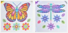 Dragonfly Cross Stitch, Needlework Shops, Cheese Cloth, Spring Colors, Square Quilt, Cross Stitching, Cross Stitch Patterns, Miniatures, Quilts