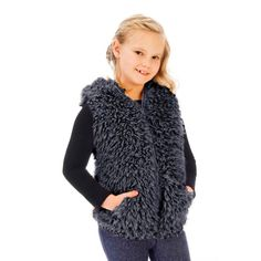 3508573608 Cuddle Bubble Vest- Hoodies for Little Girls, Girls Designer Clothes in  Canada, Kids