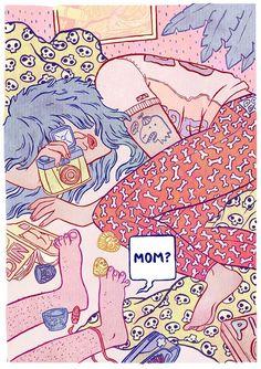kirsten rothbart ilustraciones femeninas
