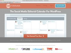 Coschedule is the newest way to save time and grow your blog with social media scheduling, and it's an editorial calendar at the same time!