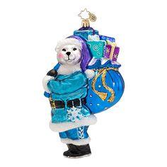 Radko Bear Christmas Ornament 2013