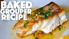 Baked Grouper Recipe – baked fish recipes – keto recipes – keto diet – s. Fish cakes recipe & content provided by Jordan Pie. Move over, chicken nuggets: Fish cakes make the perfect keto-friendly appetizer or weeknight dinne. Grouper Fillet, Grilled Grouper, Baked Catfish, Grouper Fish, Mahi Fish, Fish Fish, Mahi Mahi, Grouper Recipes, Diet