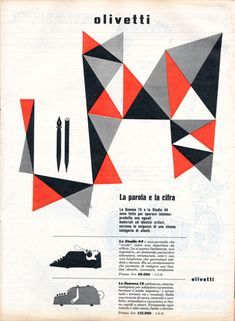 (1956) Design by Giovanni Pintori