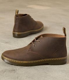 Martens Cabrillo Boot - Men's Shoes in Gaucho Crazy Horse Dr. Martens, Dr Martens Men, Dr Martens Boots, Old Boots, Shoe Boots, Gents Shoes, Suit Shoes, Mens Boots Fashion, Casual Boots