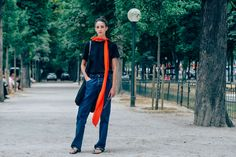 Tags Paris, Model Off Duty, Models, Scarves, Cristina Herrmann