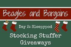 Stocking Stuffer Giveaway Day 2: Sleepypod #ad #StockingStufferGiveaways #Sleepypod | http://www.beaglesandbargains.com/stocking-stuffer-giveaway-sleepypod/