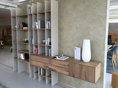 Bookshelf Design, Cabinet Design, Interior Furniture, Furniture Decor, Shelves, Interior, Living Decor, House Interior, Wall Unit