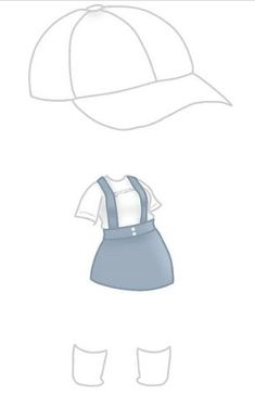 Manga Clothes, Drawing Anime Clothes, Fashion Design Drawings, Fashion Sketches, Kawaii Drawings, Easy Drawings, Life Sketch, Clothing Sketches, Kawaii Doodles