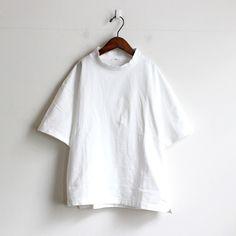 maillot マイヨ US Cotton Mock Neck Tee モックネックTee MAC-15244