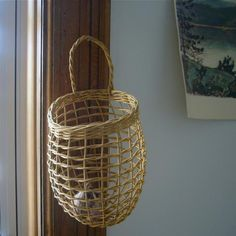 Shaker onion basket from Kiosk