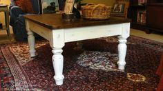 Our Southern Home | Farmhouse Coffee Table Makeover | http://www.oursouthernhomesc.com