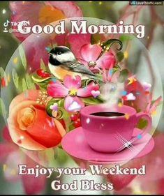 Good Morning Wishes Gif, Good Morning Coffee Gif, Good Morning Beautiful Gif, Good Morning Greeting Cards, Good Morning Image Quotes, Good Morning Roses, Good Morning Greetings, Good Day Gif, Saturday Greetings
