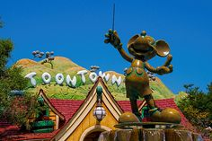 Mickey's Toontown - I would TOTALLY go there!!! I used to play Toontown ALL THE TIME! I love Toontown!