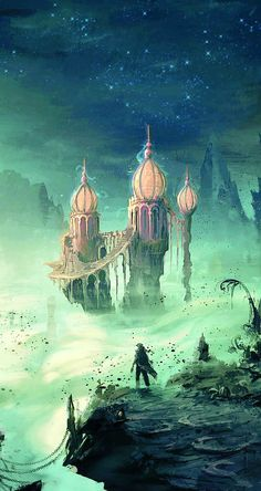Prince of Persia (2008), Concept Art. The game with the most beautiful scenery.
