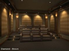 Home Theater Traditional Design