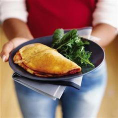 Tomato and mozzarella calzone Recipe | delicious. Magazine free recipes
