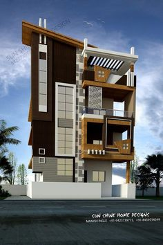 House design home design house plan home plan elevation House Outer Design, House Front Design, Small House Design, Modern House Design, Home Design, Design Ideas, 3 Storey House Design, Bungalow House Design, House Architecture Styles