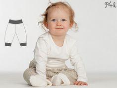 Schnittmuster Baby Wendehose Strampelhose Lucca von Pattern4kids