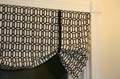 do it yourself curtain toppers - Google Search