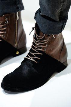 "enochliew: ""Boots by Miharayasuhiro From his Autumn/Winter 2014-15 Menswear Paris show. """