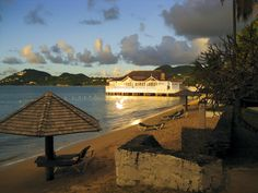 From our honeymoon.  Sandals Halcyon, Castries, St. Lucia
