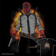 DPUBG | Shirtoid #betmac #comic #comics #deadpool #film #gaming #marvelcomics #movies #playerunknownsbattlegrounds #pubg #videogame #wadewilson