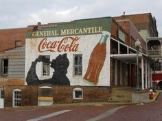 the brick streets are still here, this is downtown Nacogdoches, the oldest town in Texas