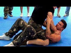 KRAV MAGA TRAINING • How to escape the Rear Naked Choke - YouTube