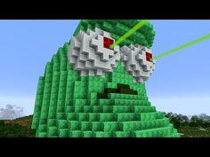 Minecraft vs Zombies   GIGA LASER BEAN!! (Test fire!)   PvZ  Land