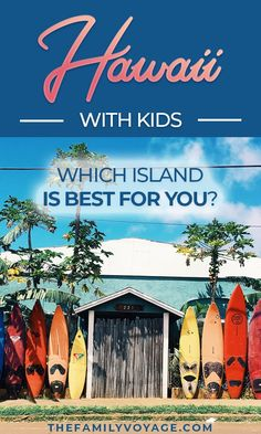 Are you planning a Hawaii vacation with kids? Check out these Hawaii travel tips to find out which Hawaiian island to visit with kids! We have info on Oahu, Maui, Kauai, the Big Island and even Molokai and Lanai. Make your trip to Hawaii with kids amazing Best Hawaiian Island, Hawaiian Islands, Lanai Island, Big Island, Tonga, Hawaii Travel, Travel Usa, Travel Tips, Travel Hacks