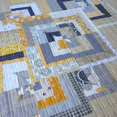 The grid quilting worked great. Time for binding. | Flickr - Photo Sharing!