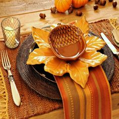 Looking for Fall decorating ideas? Find a beautiful ready to go tablescape at www.TraditionsByDJT.com