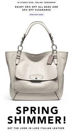 29877bae5ee5 White Coach Purse Cheap Coach Handbags