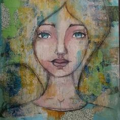 Mixed media art. Artist: Denise Bos. See more on www.denisebos.com. Medium Art, Mixed Media Art, Artist, Painting, Artists, Painting Art, Mixed Media, Paintings, Painted Canvas