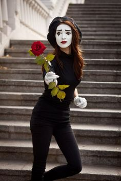 910 Best Mime Makeup and Costume Ideas images in 2019 ...