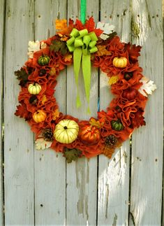 Large Burlap Pumpkin Wreath, Fall Wreath for Front Door, Autumn Leaf Wreath, Pumpkin Patch Wreath, Fall Burlap Wreath, Farmhouse Wreath