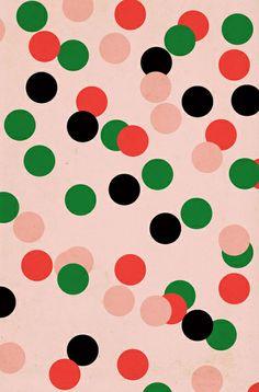 Vous aimez cet effet de confettis? Réalisez-le en un tour de main grâce à la technique des points parfaits!