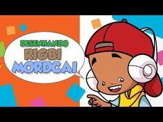 Como desenhar Rigby e Mordecai - How to draw Rigbi and Mordcai