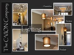 One of the most important components of #interior #design is #lighting. It helps to set the tone and direct the eye.  You don't always have to match metal finishes.  However; if you don't, you must know how to fuse them together.    www.cvioncompany.com Lighting Ideas, Lighting Design, Interior Design Photos, Metal Finishes, Sconce Lighting, Sconces, Chandelier, Eye, Mirror
