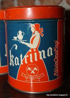 Päivin Oma Plogi Coffee Cans, Finland, Nostalgia, Canning, History, Retro, Kaffee, Historia, Home Canning