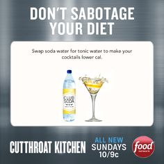 Happy Friday! Here's a tip from #CutthroatKitchen for cocktail hour.