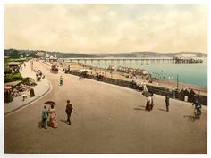 new to site Paignton, The pier, England