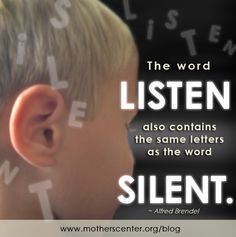 When was the last time you felt unheard as a mother / wife / friend / employee? {A short but powerful post on understanding the importance of listening}
