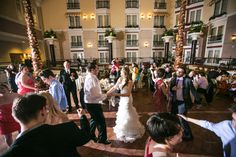 Dancing in the Palm Court @WeldonWeddings