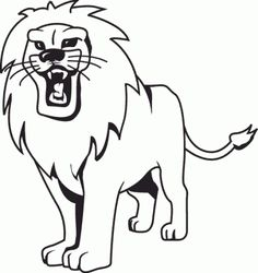 find this pin and more on lion coloring pages by ahmettanis51