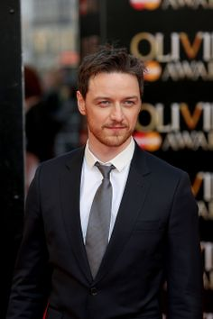 James McAvoy at the Laurence Olivier Awards at the Royal Opera House on April 13, 2014  London, England